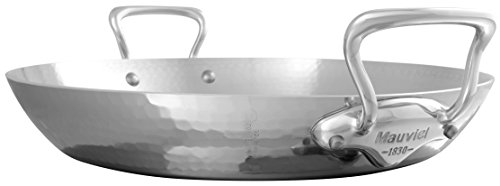 Mauviel M'Elite Paella pan, 13.8, Stainless