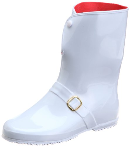 [アキレス] レインブーツ 長靴 作業靴 レインシューズ 日本製 E レディース RLB 4000 ホワイト 24.0 cm 2E