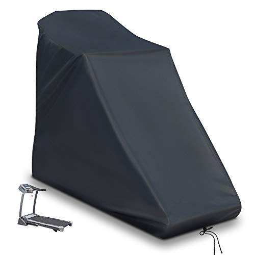 POMER Cubierta para cinta de correr – 200 x 95 x 150 cm a prueba de polvo e impermeable cubierta protectora para la máquina de correr en casa no plegable para uso en interiores o exteriores