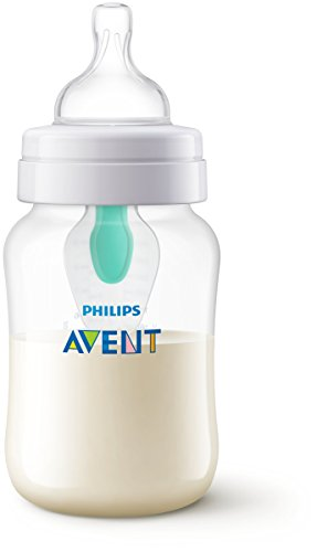 Philips Avent SCF813/14 Biberon Anti-Colic con Valvola AirFree, 260 ml