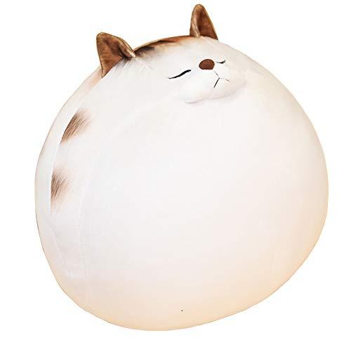 Cojín blando de peluche para gato, diseño de gato de peluche