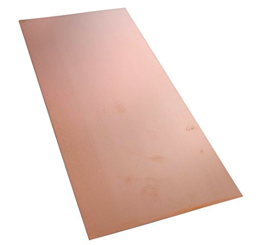 AERZETIX Platte Kupfer für Leiterplatte 210/100/1.0mm 18 μm Epoxidharz C40583