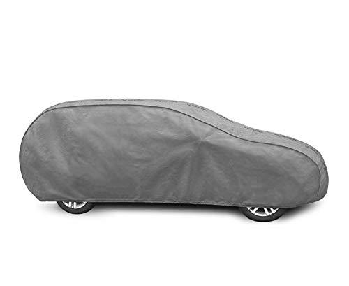 Autoabdeckung geeignet für Opel Astra IV J Schutzplane Abdeckung Vollgarage für das Auto atmungsaktiv - Autoplane XL HTB/Kombi