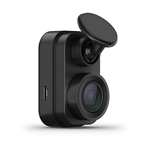 Garmin Dash Cam Mini 2 – ultrakompakte Dashcam mit automatischer Unfallerkennung, weitem 140° Bildwinkel, scharfen HD-Aufnahmen in 1080p, Sprachsteuerung und vernetzten Services für mehr Sicherheit