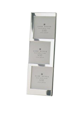 ERNO Bilderrahmen Einbeck Silber 3x10x10