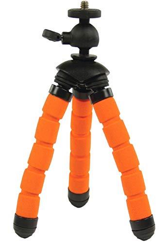 Eurosell Profi 13cm Mini Tisch Kamera Stativ - Ultra flexibel - für GoPro/Canon/Nikon/Samsung etc. Flexibles Kamerastativ