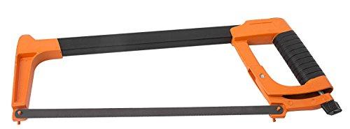 KENDO Profi Metallhandsäge 300mm | Bügelsäge für Metall, hochwertig und robust | mit komfortablen Griff