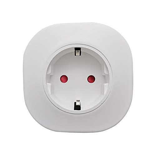 WiFi Intelligent Socket Plug Home-Steckdose Kompatibel mit Amazon Alexa Echo/Google Home Support Sprachsteuerung APP Remote Control Timing-Funktion