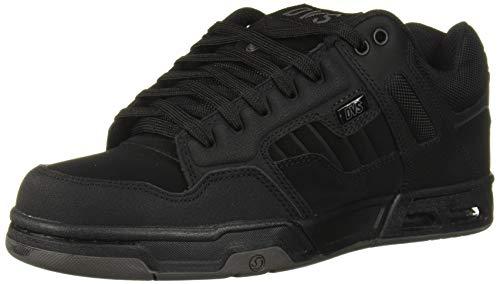 45.5 EU Nubukleder in Schwarz//Grau//Marineblau Schwarz Dvs Footwear Mens Enduro 125 Skateschuh
