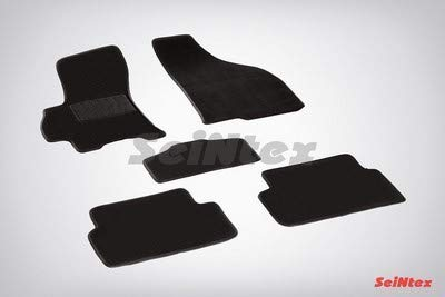 Seintex sx82262Teppichen Teppichböden Lux, schwarz, Set von 5