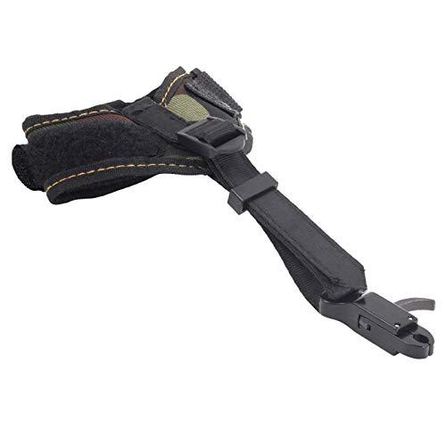 Beada 1 Pieza Unid Camo Release Aid 80Lbs Compuesto Bow Trigger Caliper Strap Accesorios para Herramientas de MuuEca Youth Archer Archery Bow