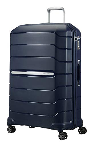 Samsonite Flux Spinner XL Valigia Espandibile, 81 cm, 136 L, Blu (Navy Blue)