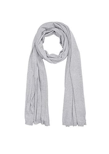 s.Oliver Damen 39.910.91.5947 Schal, Grau (Silver Grey Melange 9400), One Size (Herstellergröße: 1)