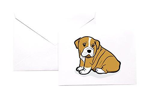 VinMea Engels Bulldog briefpapier Note Card Set