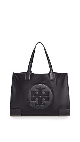 Tory Burch Women's Ella Tote, Black, One Size