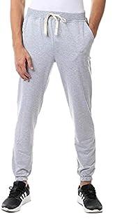 Off Cliff Cotton Elastic Drawstring Waist Side-Pocket Sweatpants for Men
