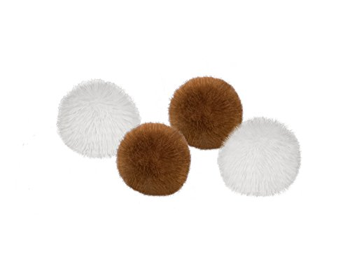 Nobby PomPom Ball  7 cm; 4 St