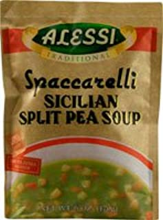 Alessi Spaccarelli Sicilian Split Pea Soup - 6 oz