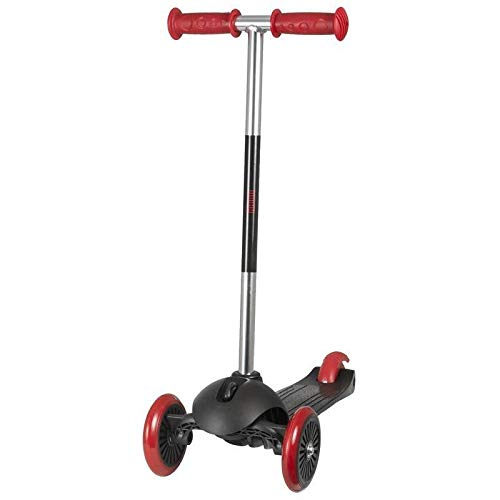WORX Kinder 3 Wheel Scooter, Schwarz, 66cm