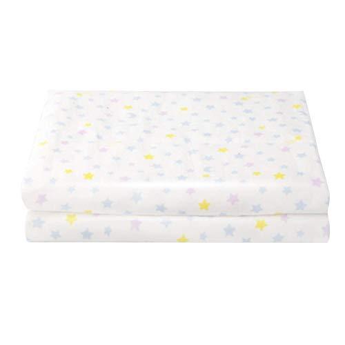 AOIWE Toalla de baño para bebé, toallas de baño suaves para niños, bebés, niños pequeños, toalla grande de algodón esponjoso, perfecta para niños y niñas (color: estrella amarilla, tamaño: 95 x 95 cm)