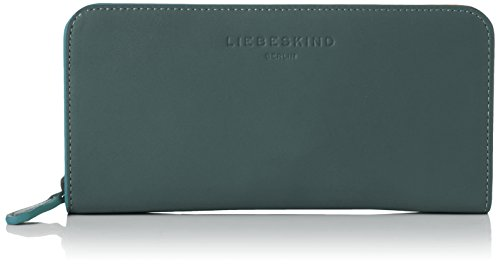 Liebeskind Berlin Damen SallyH7-InlayZ Geldbörse, Feather Green, 3x10x21 cm
