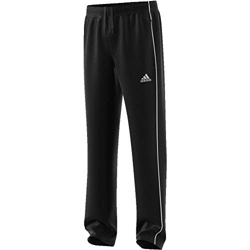 adidas Kinder CORE18 PRE PNTY Sport Trousers, Black/White, 1112
