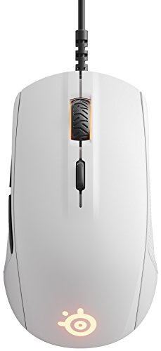 SteelSeries Rival 110 Optical Gaming Mouse (White)