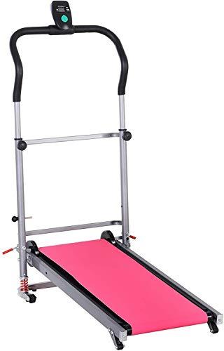 GYLEJWH Startseite Multi-Funktions-Laufband, Büro Und Zu Hause Fitness-Übung Läuft Joggen Walking Fitnessgeräte