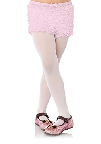 LEG AVENUE 4985 - Shorts mit Rüschen, Einheitsgröße, Hellrosa