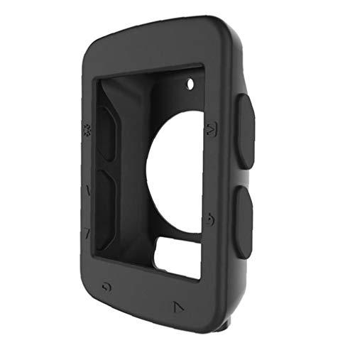 Hiinice Estuche Protector de 1pc Tabla de códigos de Reloj de Bicicletas Código de Silicona Caso Cubierta de Tabla Accesorios del teléfono para Garmin Edge 520 (Negro)