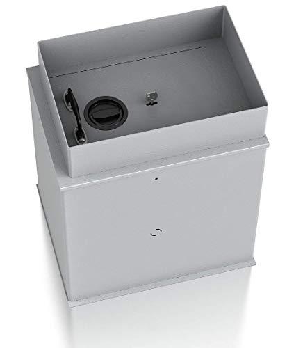 SafeHero Bodentresor S2 nach EN 14450 Secureo Ostrich | Schlüsselschloss | H330xB440xT540 | unsichtbar & einfach einzubauen