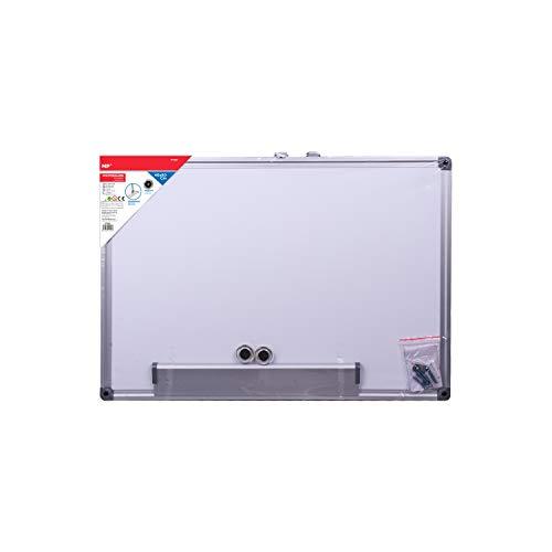 MP - Pizarra Blanca Magnética con Marco de Aluminio - 40x60 cm