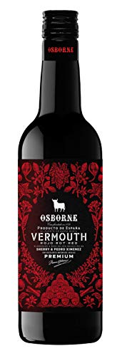 Vino aperitivo Vermouth Rojo Osborne - 3 botellas de 75cl - Total: 225 cl