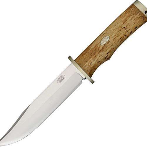 Great Price! Fallkniven SK6se Fixed 6.22 in Blade Curly Birch Handle