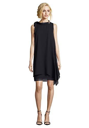 Vera Mont Damen 0053/4825 Kleid, Blau (Night Sky 8541), (Herstellergröße: 38)