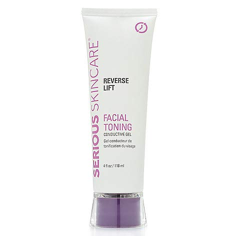 Serious Skincare Reverse Lift Facial Toning Conductive Gel 4 oz.