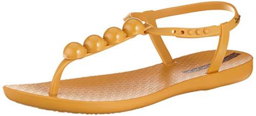 Ipanema Damen Charm VI Sand FEM T-Spangen Sandalen, Gelb (Yellow/Yellow 8655), 40 EU