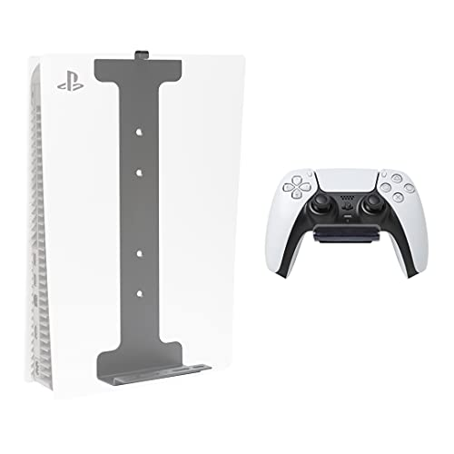 how to set up two factor authentication on ps5 HIDEit Mounts PS5 Wall Mount Pro Bundle Black Heavy Duty Steel Wall Mounts for PlayStation 5 (Disc and Digital) and Controller, Includes 2 Mounts - Patent Pending