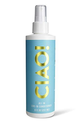 CIAO Hair AllInOne LeaveIn Conditioner | MultiBenefit Treatment | Vegan | Cruelty Free | Gluten Free | Paraben Free | Sulfate Free | Hair LeaveIn Conditioner  8oz