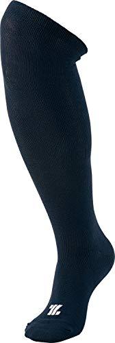 Zett Baseball Under-Socks, Color Type, 3 Pairs, 1 Set, Navy