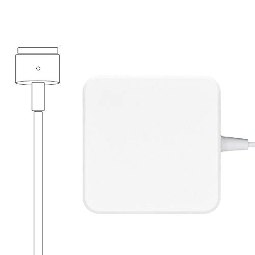 Mac Book Air Charger, 45W Magnetic T-Tip Replacement Power Adapter Compatible with Magsafe 2 MacBook Air 11 inch and 13 inch After Mid 2012 by Uflatek