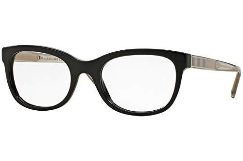 BURBERRY BE2231 Brillen 54-18-140 Schwarz Mit Demonstrationsgläsern 3001 BE 2231