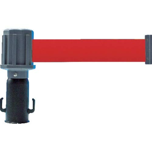 TRUSCO(トラスコ) チェーンスタンド用バリアライン(ターポリンテープ付) 赤 TST-BR-4