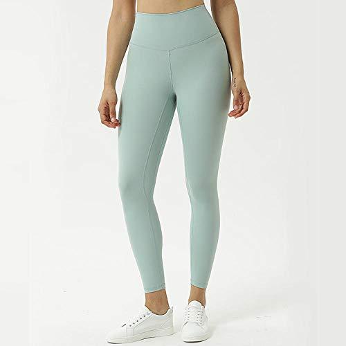 B/H Yoga de Cintura Alta Elegante con Gimnasio Pantalones de Yoga Desnudos...