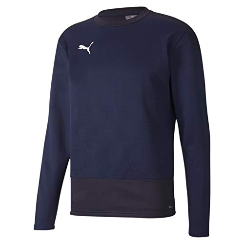 PUMA Teamgoal 23 Training Sweat Sudadera, Hombre, Peacoat / Puma New Navy, L