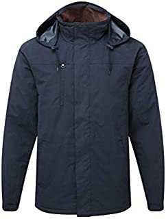 Countrywear New Mens Padded Quilted Jacket Breathable Waterproof Windproof Coat Hood Countryside Fishing Hunting Farming C...