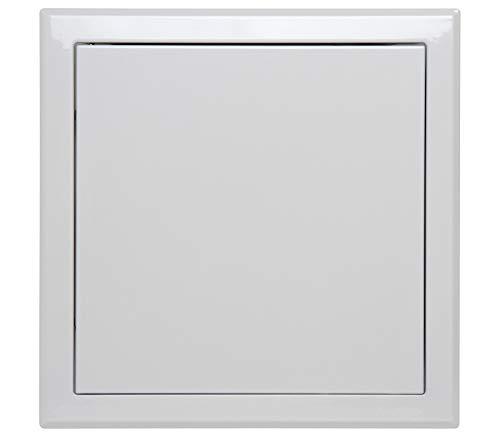 Semin A03620 Trappe de Visite Métallique Laquée Blanche 500 mm x 500 mm pour l'Accès aux Gaines Techniques et Conduites