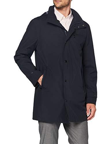 Pierre Cardin Herren Coat Gore-Infinium Voyage Jacke, Blau (Marine 3000), Medium (Herstellergröße: 54)