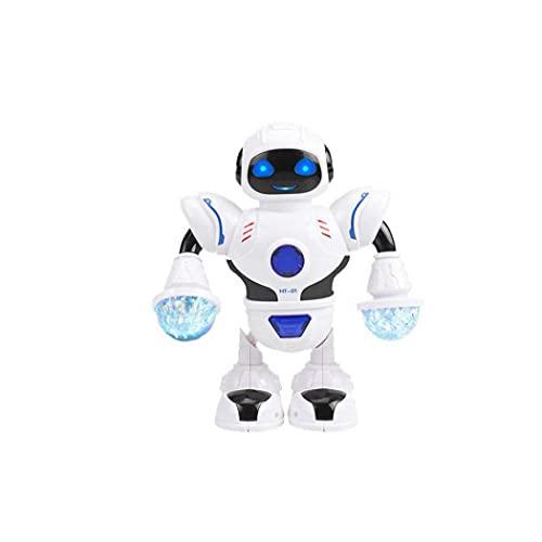 GGOOD Electrónica del Robot Robot de Juguete Baile del Canto con Musicales y Coloridas Luces Intermitentes de Giro de Robot de Juguete de Regalo para el Juguete electrónico de los niños