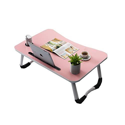 Dyljyf Laptoptafel, draagbaar, multifunctionele tafel, klaptafel, kaartsleuf, bekerslot instelbaar, voor slaapbank, terras, tuin, camping